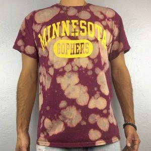 Minnesota Gophers Medium Shirt | Distress College